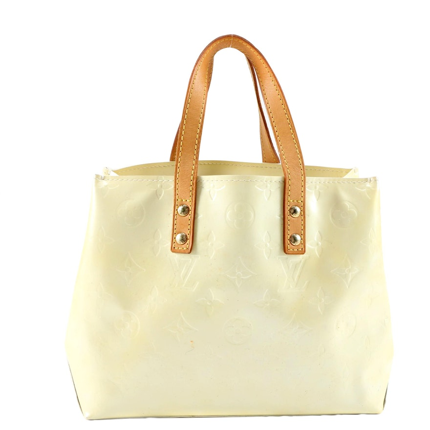 Louis Vuitton Reade PM Tote in Monogram Vernis and Leather
