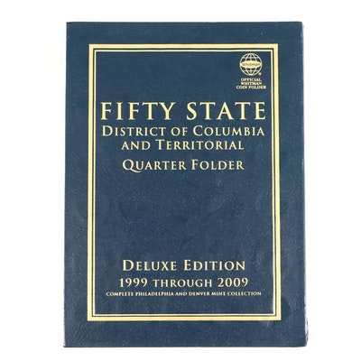 Whitman Binder of U.S. Statehood and Territories Quarters