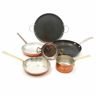 Imusa, Calphalon and Other Copper, Tin and Aluminum Cookware