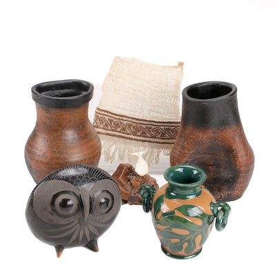 Early Colonial Peruvian Textile and Other Indigenous-Made and Rustic Items