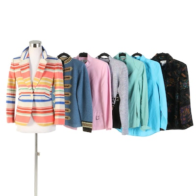 Anne Klein, Tahari, Liz Claiborne, ORB, Coldwater Creek and South Cotton Jackets