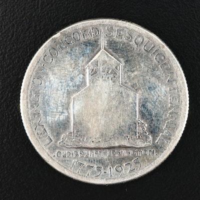 1925 Lexington-Concord Sesquicentennial Commemorative Half Dollar