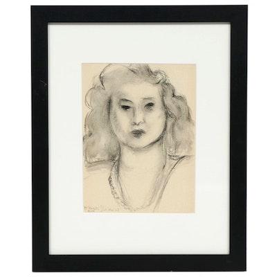 "Lithograph After Henri Matisse ""Madame Vava Duclos,"" 1954"