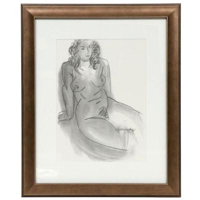 """Lithograph after Henri Matisse for """"Derrière le Miroir,"""" 1952"""