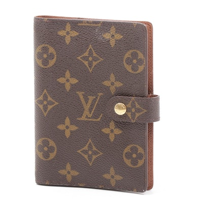 Louis Vuitton Monogram Coated Canvas Planner and Card Case