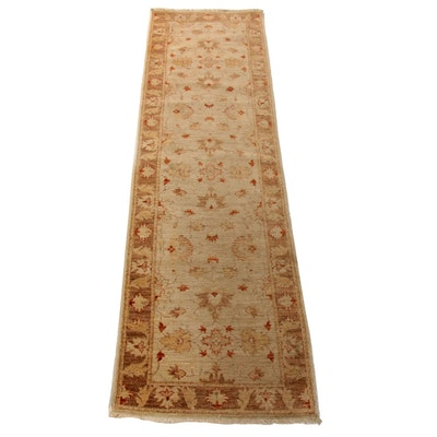 2'5 x 9'2 Hand-Knotted Indo-Persian Tabriz Runner