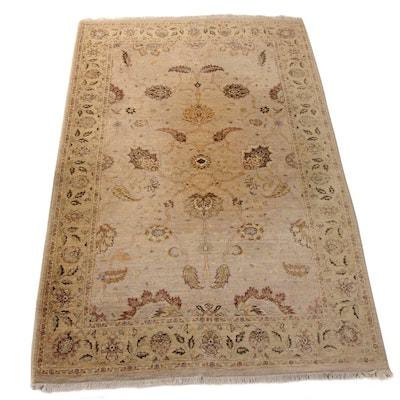 4'11 x 8'3 Hand-Knotted Indo-Persian Tabriz Rug