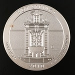 2010 America the Beautiful Five Ounce Uncirculated Hot Springs Coin