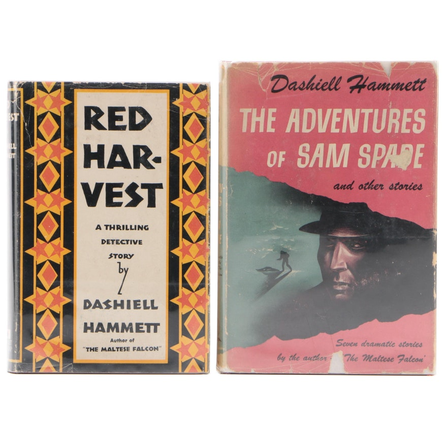 """""""Red Harvest"""" and """"The Adventures of Sam Spade"""" by Dashiell Hammett, 1940s"""