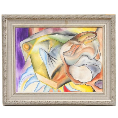 "Mitch Gillilan Oil Painting ""December"""