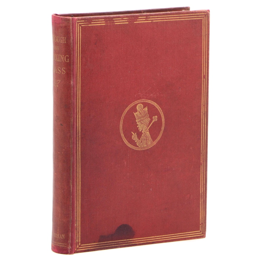 """First Edition, First Printing """"Through the Looking-Glass"""" by Lewis Carroll, 1871"""