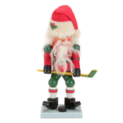 Christian Ulbricht German Hockey Santa Nutcracker