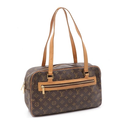 Louis Vuitton Cite GM Bag in Monogram Canvas and Leather