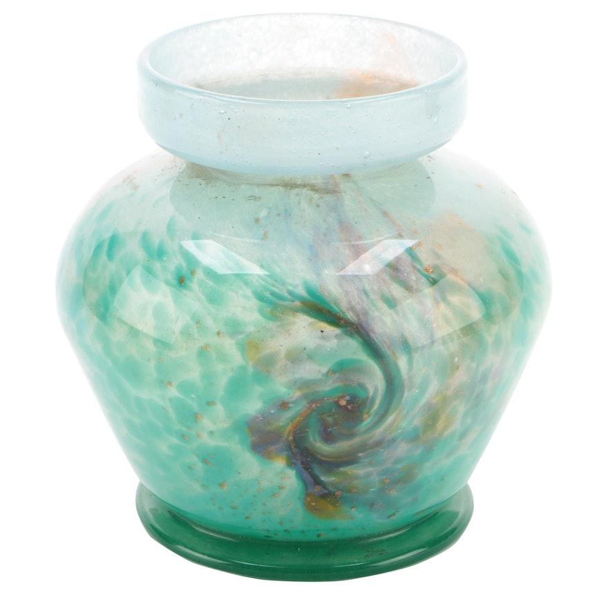 Monart Art Glass Mushroom Lamp Base