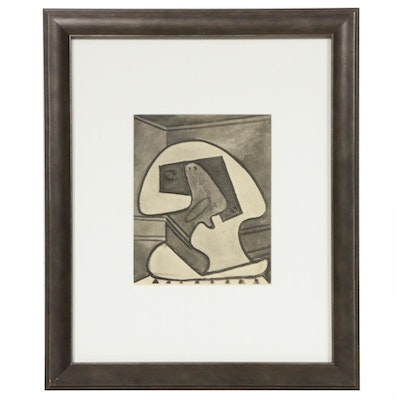 """Halftone Print after Pablo Picasso for """"Cahiers d'Art,"""" 1938"""