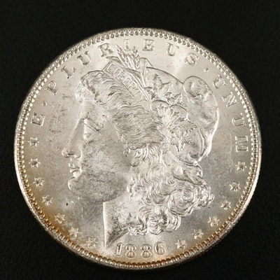 1886 Silver Morgan Dollar