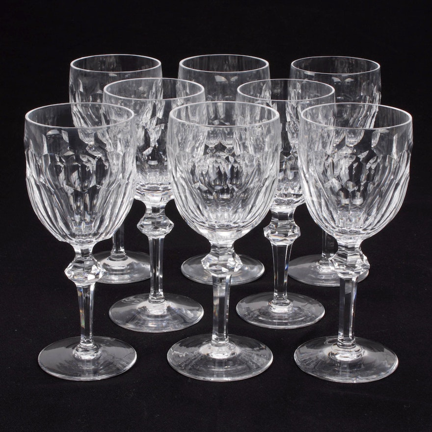 """Waterford Crystal """"Curraghmore"""" Water Goblets"""