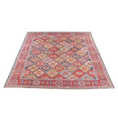 12'5 x 15'6 Hand-Knotted Wool Room Sized Rug