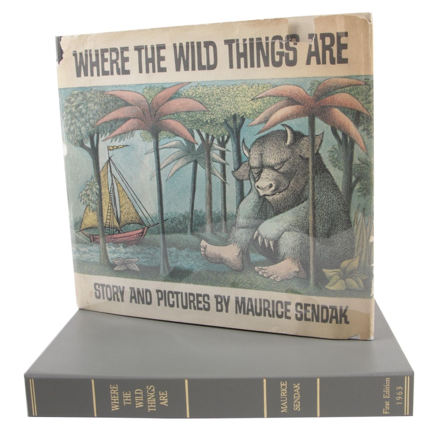 "First Edition, First Printing ""Where the Wild Things Are"" by Maurice Sendak"