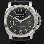 Panerai Luminor Marina PAM48 Stainless Steel Automatic Wristwatch