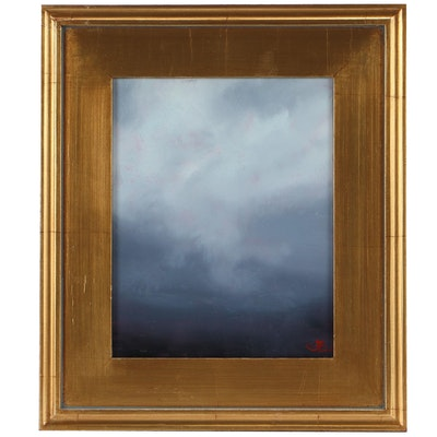 "Sarah Brown Oil Painting ""Brewing Storm"""