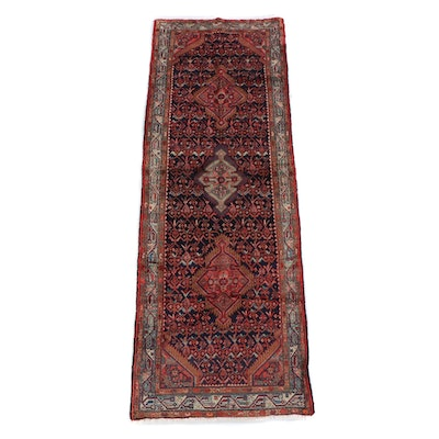 3'5 x 10'4 Hand-Knotted Persian Yalameh Wool Long Rug