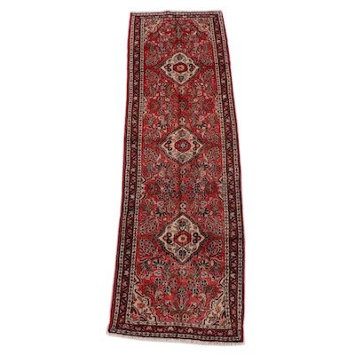 3'2 x 10'7 Hand-Knotted Persian Arak Wool Long Rug