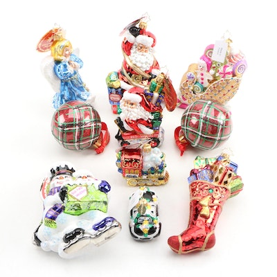 Christopher Radko Glass Christmas Ornaments and More