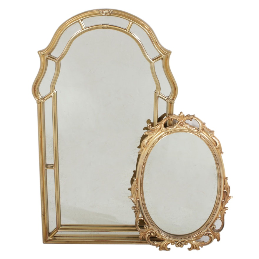 Syroco and Other Gilt Framed Decorative Mirrors