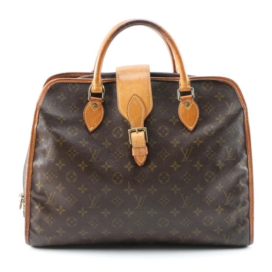 Louis Vuitton Rivoli Briefcase in Monogram Canvas and Leather