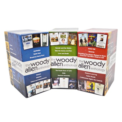 The Woody Allen Anthology Volume 1, 2 and 3 DVD Box Sets