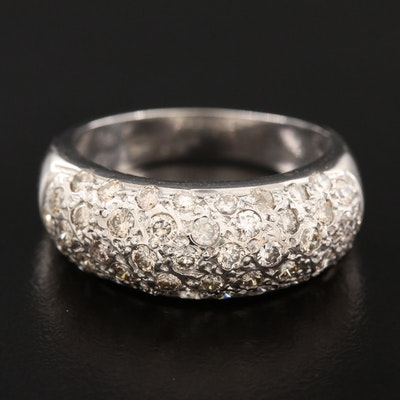 18K White Gold 1.26 CTW Diamond Ring
