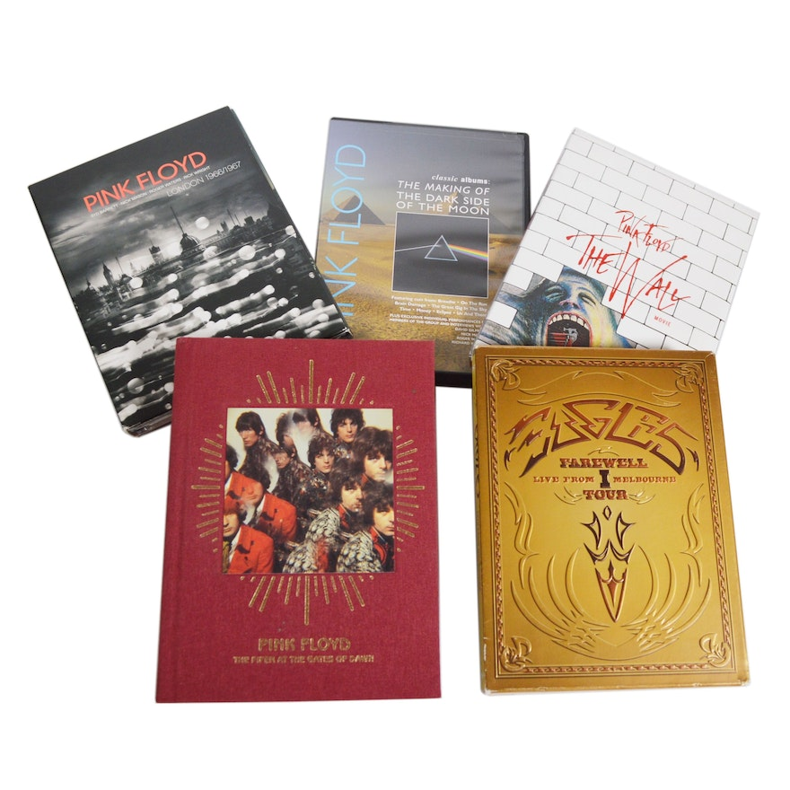 """Pink Floyd """"The Wall Movie"""" and Eagles """"Farewell I Tour"""" DVDs and More"""