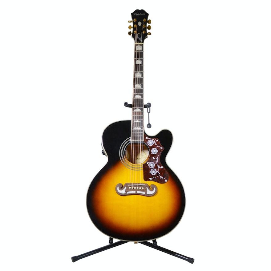Epiphone EJ200SCE Acoustic-Electric Guitar