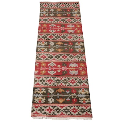 2'8 x 8'2 Hand-Knotted Indian Rug Runner