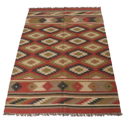 6'0 x 9'4 Handwoven Turkish Kilim Rug