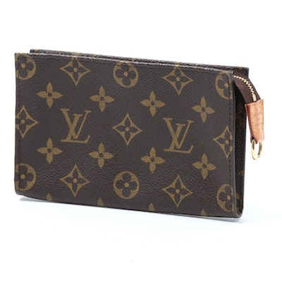 Louis Vuitton Monogram Canvas and Leather Pouch