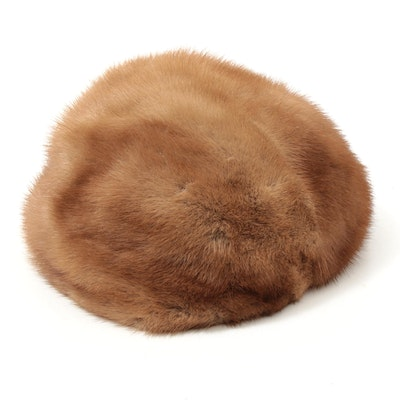 Mink Fur Cap from Fashions by Winter New York, Vintage