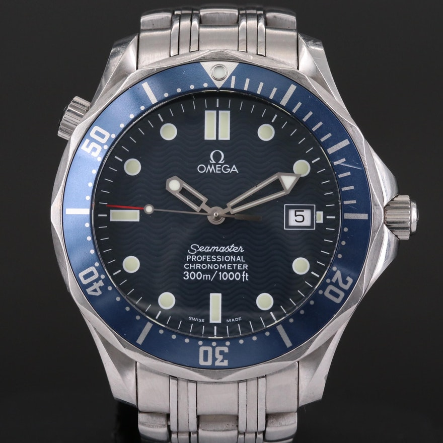 Omega Seamaster Diver 300M Automatic Wristwatch, 2006