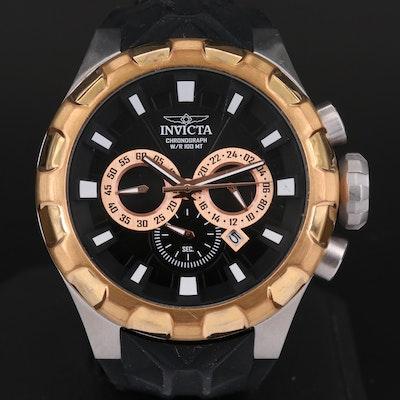 Invicta I-Force Two Tone Quartz Chronograph Wristwatch