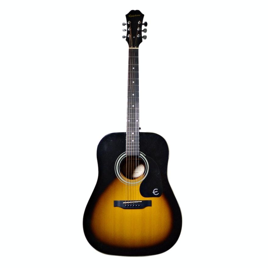 Epiphone DR 100 Vintage Sunburst Acoustic Guitar
