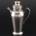 Excelsior Silver Plate Cocktail Pitcher