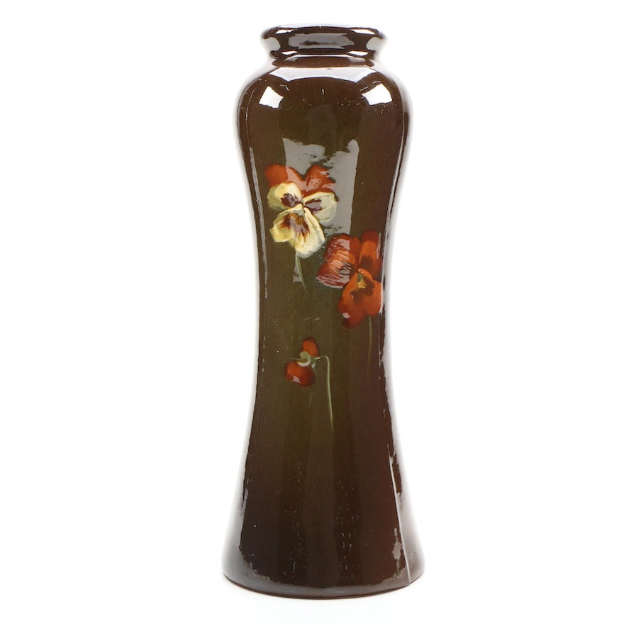 "J.B. Owens ""Utopian"" Vase Motif, Late 19th/ Early 20th Century"