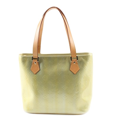 Louis Vuitton Houston Tote in Monogram Vernis and Leather