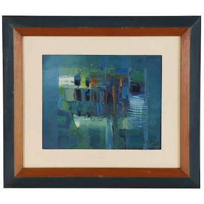 Renzo Abstract Oil Painting