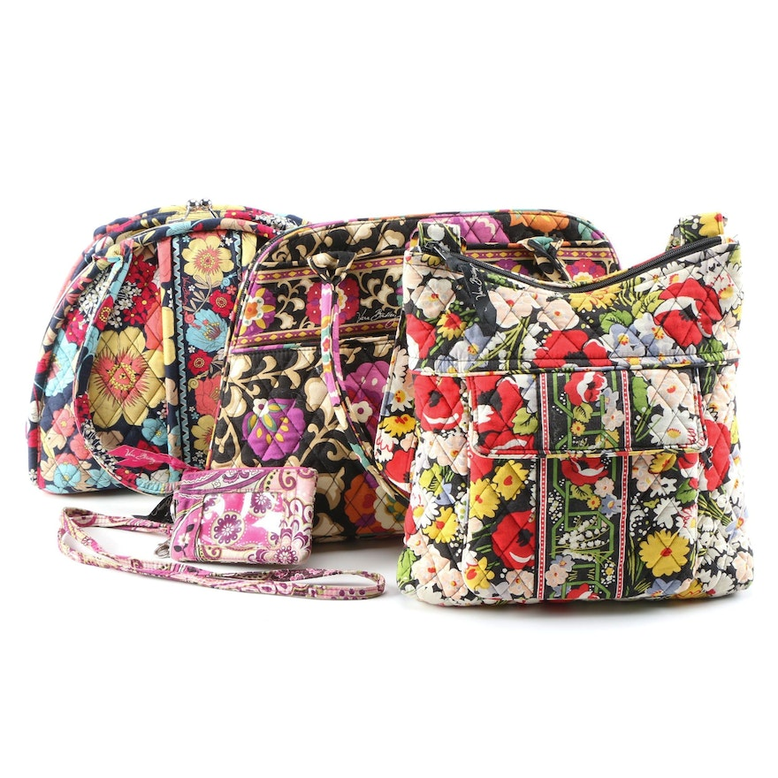 """Vera Bradley Eloise Kisslock Purse in """"Happy Snails"""" and More Bags"""