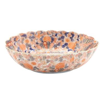 Japanese Koransha Imari Porcelain Bowl, 1930s
