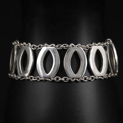 Sterling Silver Ladder Bracelet