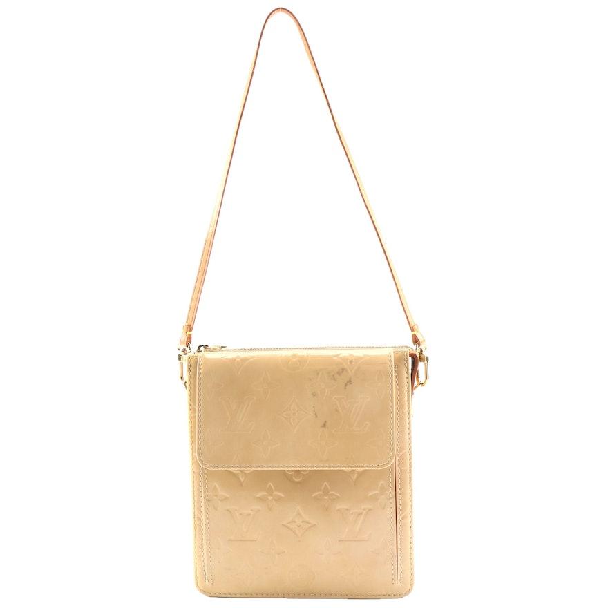 Louis Vuitton Mott Shoulder Bag in Monogram Vernis