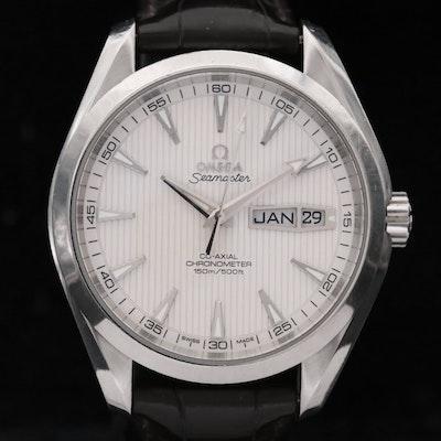 Omega Seamaster Aqua Terra Co-Axial Annual Calendar Stainless Steel Wristwatch